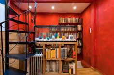 red writer's home in Lisbon