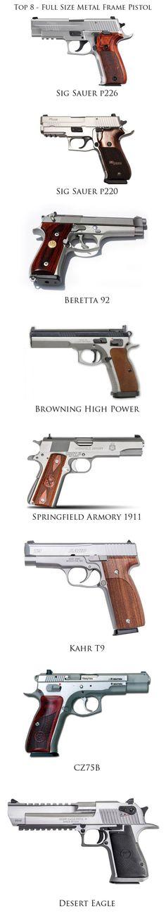 Top10 Guns to Own