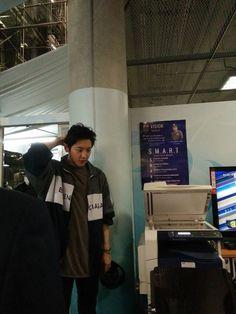 #Chanyeol #Exo Icheon Airphort Korea Go To Bangkok
