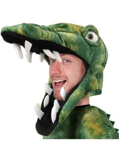 Adult Crocodile Costume Hat: Our Adults Crocodile Hat can also be worn as an alligator hat and it is great for sporting events. Themed Halloween Costumes, Holiday Costumes, Halloween Party Themes, Creative Halloween Costumes, Halloween Ideas, Alligator Costume, Crocodile Costume, Animal Costumes, Adult Costumes