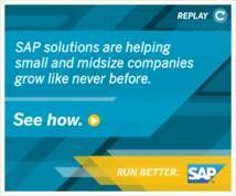 SAP Banner ad