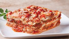 Classic Lasagna #recipe made with fresh ingredients from Sam's Club.