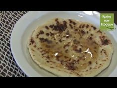 Sfakianopites, the sour cheese pies from Chania Cheese Pies, Crete, Pancakes, Breakfast, Youtube, Recipes, Food, Morning Coffee, Cheesecakes