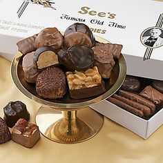 See's Candies - Worth breaking a diet for any day! Best box of chocolate -evar!