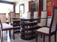 Mesas de comedor de vidrio - modelo S