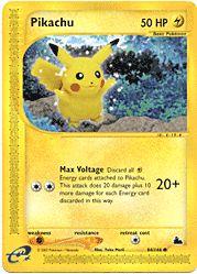 E Skyridge - Pikachu