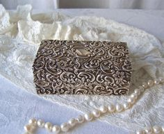 Antique Sterling Silver Trinket Box Henry by CynthiasAttic on Etsy