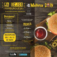 #concurso la mejor #hamburguesa de #mallorca #2019 te apuntas? #diseñografico #linux #inkscape #burguer #foodporn #competition Linux, Food Porn, Branding, Design, Christmas Dinner Parties, Restaurants, Majorca, Brand Management