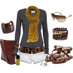 Love the colors... Cute outfit
