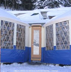 yurts and cold climates living in the round