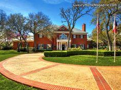 Luxury Home Magazine San Antonio #Luxury #Homes #Custom #Colonial #Georgian #Style #Southern #Elegant