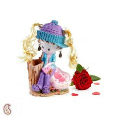 Heart Touching Ceramic Doll