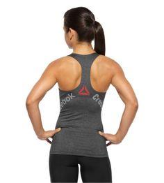 Reebok Women's Reebok CrossFit Bonded Racer Tank Sleeveless Tops   Official Reebok Store