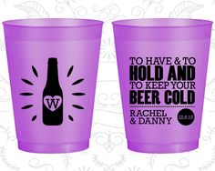 Custom Shatterproof Cups, Shatterproof Cups, Frost Flex Cups, Custom Frosted Cups, Frosted Plastic Cups, Personalized Frosted Cups (434)