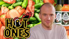 Sean Evans has spent nearly 100 episodes choking down hot sauce. But does he have what it takes to make his own concoction? Anxious to turn the tables, Sean . Pizza Recipes, New Recipes, Cooking Recipes, Vegan Recipes, Favorite Recipes, Jalapeno Sauce, Jalapeno Recipes, First We Feast, Ketchup