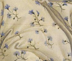 Sandro Botticelli (1445-1510) The Birth of Venus, detail flowers (1486) Florence Uffizi