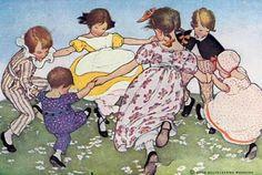 Dark origins of nursery rhymes