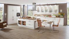 Küche norina_9977-Weiss-Lack