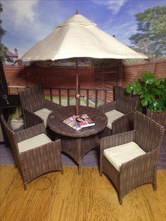 Barbie Furniture Handmade Dolls Garden Accessories Outdoor Sets