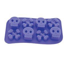Skull & Crossbones Ice Cube Tray - OrientalTrading.com
