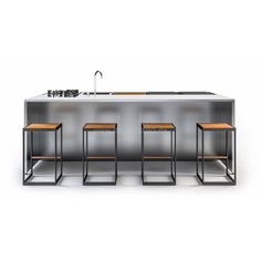 Röshults Kitchen Island modulare Gartenküche // Röshults Kitchen Island modular outdoor kitchen
