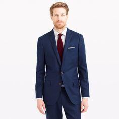 Ludlow suit jacket in Italian wool flannel - old ludlow products -Men- J.Crew