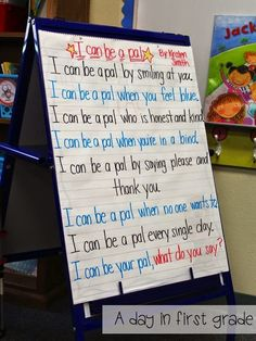 I love using this poem the first day of school! Beginning Of The School Year, First Day Of School, School Days, Back To School, School Stuff, Summer School, Classroom Inspiration, Classroom Ideas, Classroom Chants
