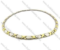 Stainless Steel Magnetic Necklace - JN250009