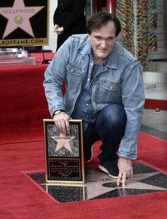Quentin Tarantino receives star on Hollywood Walk of Fame (foto: EPA)