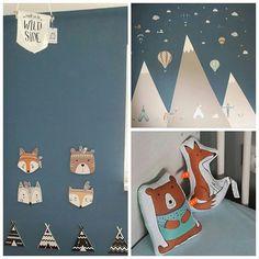 Entzuckend ... @my_fantasyroom @hemadeutschland @alpina_feine_farben #dinkiballoon  #kidsroominspo #kidsroomdecor #boysroom #babyboy #junge #kinderzimmer  #kidsroom ...
