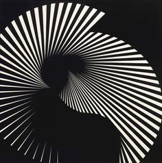 Franco Grignani, Floating tension n ° 18, 1965 Sony Design, E Design, Graphic Design, Les Paul Custom, Guitar Painting, Philadelphia Museum Of Art, European Tour, Exhibition Poster, Perfect World