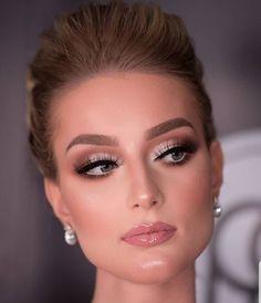 prom makeup - prom makeup - party makeup - wedding makeup - inspiration makeup - step by step makeup Bride Makeup, Glam Makeup, Makeup Inspo, Eyeshadow Makeup, Makeup Inspiration, Makeup Tips, Hair Makeup, Makeup Ideas, Makeup Goals