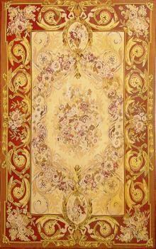 Arte Orientale per realizzare questo #Tappeto Aubusson 1.80x1.20 | Zarineh Tappeti #arredamento  http://www.zarineh.it/catalogo