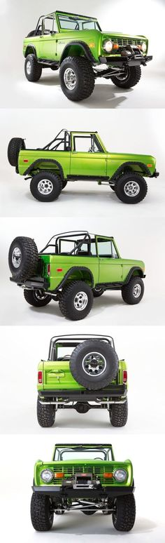 Not a muscle car, but old Ford Broncos sure are cool. Jeep Jk, Jeep Truck, Cool Trucks, Pickup Trucks, Cool Cars, Lifted Trucks, Classic Bronco, Classic Trucks, Ford Bronco