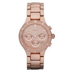 DKNY Damen-Armbanduhr Chronograph Quarz Edelstahl beschichtet NY8508: Amazon.de: Uhren