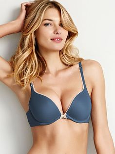 c70e5df335abb Worn by   Angel Jessica Hart Type   Body by Victoria Push Up Bra Color