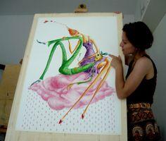 - drawings & illustrations by Gratiela Aolariti - Finger, Illustrations, Watercolor, Drawings, Wordpress, Women, Pen And Wash, Watercolor Painting, Fingers