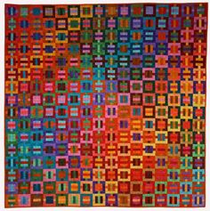 Hip to be Square, quilt by Kent Williams