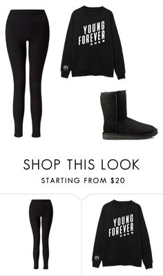 """Untitled #375"" by ootori5sos on Polyvore featuring Miss Selfridge and UGG"