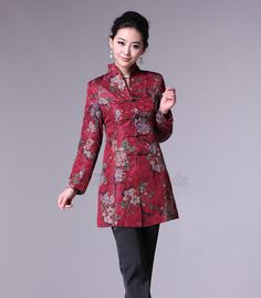 Chinese jacket & traditional Chinese modern jackets for women