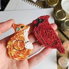 Cute & Funny Colorful Polymer Clay Animals Jewelry by Alisa Laryushkina. FunPalStudio Illustrations, Entertainment, beautiful, creativity, nature, drawings, paintings, Art, Artwork, Artist, sculptures, polymer clay jewelry, handmade jewelry, fashion.