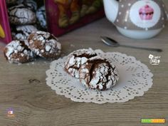 CHOCOLATE CRINKLES  #ricette #food #recipes