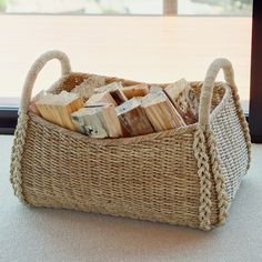 Kouboo Oversized Sea Grass Storage Basket