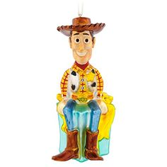 Hallmark Premium Toy Story Woody Christmas Ornament *** Click image for more details.