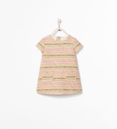 JACQUARD DRESS WITH POCKETS - Dresses - Baby girl (3 months - 3 years) - KIDS | ZARA United States