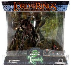 Lord of the Rings Combat Hex Miniature Set - Treebeard & Hobbits Box Set @ niftywarehouse.com #NiftyWarehouse #LOTR #LordOfTheRings #Movies #Geek #Nerd #Books #Fantasy