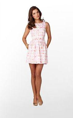 Lilly Aleesa Dress. I want this soooo badly for summer.