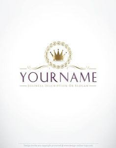 Exclusive Logo Design: Crown Logo Images FREE Business Card