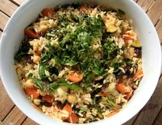 Recipe: Kate's Confetti Rice | Kate Schwabacher, Yoga and Ayurveda