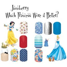 Jamberry Princesses http://boomprettynails.jamberrynails.net